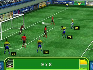 Soccer Math screen shot