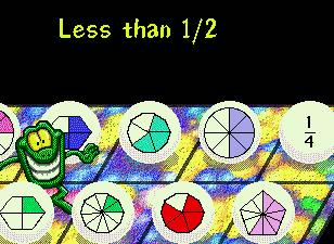 Childrens Software - Screen shot of Math Munchers