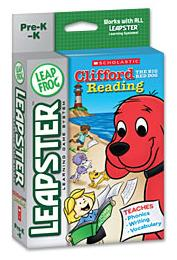 screenshot of Leapster Game: Clifford the Big Red Dog Reading