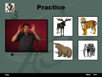 Visualize ASL Volume 1: Basic Vocabulary and Fingerspelling screen shot