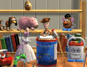 Screen Shot of Toy Story Animated StoryBook