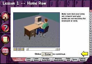 Typing Time Screen Shot